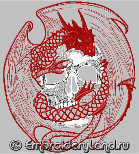 Embroidery-Dragon_skull2